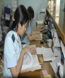 Thông báo lô hàng đủ thủ tục về qui định đối với hàng hóa nhập khẩu