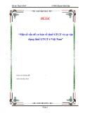 """Luận văn """"Một số vấn đề cơ bản về thuế GTGT và sự vận dụng thuế GTGT ở Việt Nam"""""""