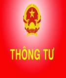 Thông tư số 13/2010/TT-NHNN của Ngân hàng nhà nước Việt Nam