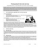 Phương pháp tổ chức cuộc họp
