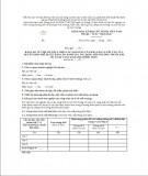 Báo cáo về việc đã thực hiện các nội dung của báo cáo và yêu cầu của quyết định phê duyệt báo cáo đánh giá tác động môi trường trước khi dự án đi vào vận hành chính thức