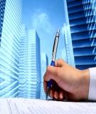 Quy trình: Quản lý dự án đầu tư xây dựng