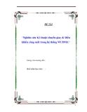 """Tiểu luận """"Nghiên cứu Kỹ thuật chuyển giao & Điều khiển công suất trong hệ thống WCDMA"""""""