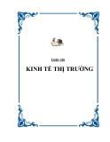 """Tiểu luận  """" KINH TẾ THỊ TRƯỜNG """""""