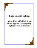 Luận văn tốt nghiệp về: Các công cụ của chính sách tiền tệ ở Việt Nam - thực trạng và giải pháp hoàn thiện