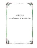 Tiêu chuẩn ngành 14 TCN 195 2006 - 20tr