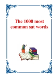 The 1000 Most Common SAT Words