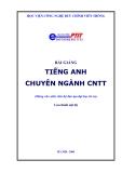 Bài giảng Tiếng Anh chuyên ngành Công nghệ thông tin - Học viện Công nghệ Bưu chính Viễn thông