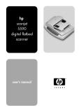 User Guide hp scanjet 5590 scanner