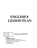 Tài liệu về Giáo án tiếng Anh 8
