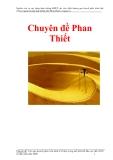 Chuyên đề Phan Thiết