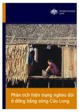 Báo cáo: Phân tích hiện trạng nghèo đói ở đồng bằng sông Cửu Long