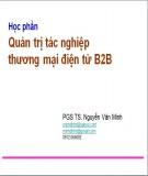 Bài giảng Quản trị tác nghiệp thương mại điện tử B2C - PGS.TS. Nguyễn Văn Minh