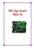 Bài tập mạch điện tử