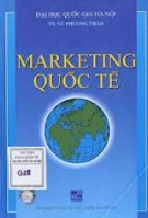 Giáo trình Marketing quốc tế