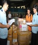 Thủ tục hải quan đối với bưu phẩm, bưu kiện, hàng hoá xuất khẩu, nhập khẩu gửi qua dịch vụ bưu chính và hàng hoá xuất khẩu, nhập khẩu gửi qua dịch vụ chuyển phát nhanh