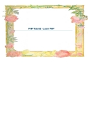 PHP Tutorial - Learn PHP