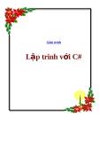 Giáo trình kỹ thuật lập trình C#