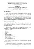 Hệ thống tiêu chuẩn thẩm định giá VN số 03 - Những quy tắc đạo đức hành nghề thẩm định giá tài sản
