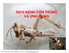 Bài giảng dịch bệnh côn trùng - Khái niệm