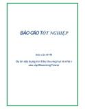 Báo cáo ĐTM: Dự án xây dựng mới Khu thương mại và nhà ở cao cấp Blooming Tower