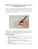Hơn 20 mẫu đơn xin việc, sơ yếu lý lịch và CV phổ biến hiện nay