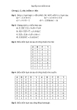 Bài tập môn Điện tử số