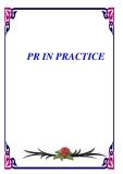 PR IN PRACTICE