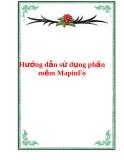 Hướng dẫn sử dụng phần mềm MapinFo