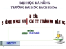 """Báo cáo """"Sự ô nhiễm nước mặt thành phố Đà Nẵng"""""""