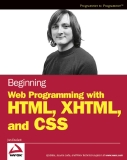Beginning Web Programming with HTML, XHTML, and CSS