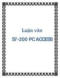 """Luận văn """" S7-200 PC ACCESS """""""