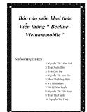 """Báo cáo môn khai thác Viễn thông """" Beeline - Vietnammobile """""""