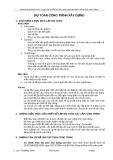 Bài giảng khóa học: Lập và quản lý dự toán, quyết toán công trình xây dựng