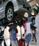 Kỹ thuật ô tô: Chương 5 - Quy trình công nghệ sửa chữa ô tô