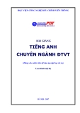 English homework specialized electronics and telecommunications