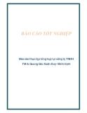 Báo cáo thực tập tổng hợp tại công ty TNHH TM & Quảng Cáo Xuân Duy- Bình Định