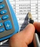 Nội dung quá trình phân tích báo cáo tài chính doanh nghiệp