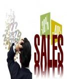 7 sai lầm trong bán hàng