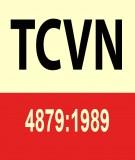 Tiêu chuẩn Việt Nam TCVN 4879:1989