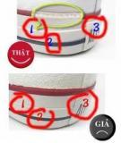 Cách phân biệt giày Converse thật - giả