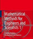Mathematical Methods 1 for Engineers and Scientists 1