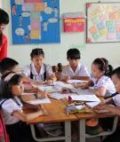 """Sáng kiến kinh nghiệm """"Coi trọng tính chất thực hành trong giờ tập viết khi dạy học sinh lớp 2 viết chữ cái hoa"""""""
