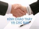 Thuyết trình: Kỹ thuật đàm phán trong kinh doanh