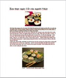 Ẩm thực ngày Tết của người Nhật