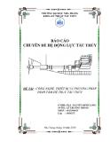 Báo cáo chuyên đề về Hệ động lực tàu thủy