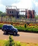 Xây dựng và quản lý dự án môi trường - ĐH Yersin Đà Lạt