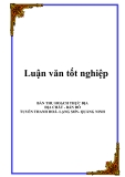 Bản thu hoạch thực địa - Địa chất bản đồ - Tuyến Thanh Hóa, Lạng Sơn, Quảng Ninh