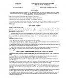 Quy định về quản lý an toàn vệ sinh lao động