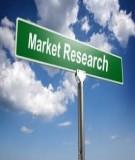 Nghiên cứu marketing - Chương 7: Chuẩn bị dữ liệu và xử lí dữ liệu